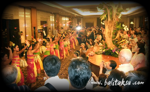 Grand Hyatt Children Balinese Dance