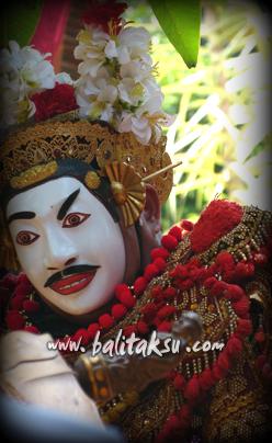 バリ島の貴重な仮面