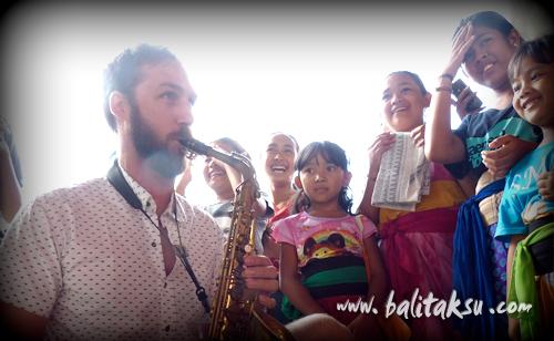 Saxophone dan Gamelan