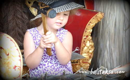 Workshop Gamelan for Children, The Spring School Ubud