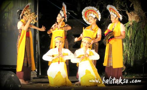 International Saraswati Festival 2015 - Live Strieming,ARMA Museum,Tari Citra Saraswati by A.A.Ayu Bulantrisna Djelantik