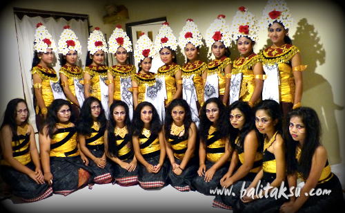 How to make balinese dance costumes (sisia dancer)