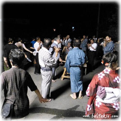 バリ舞踊家padmanila福岡県糸島市長糸に残る御田植え踊り・盆踊り