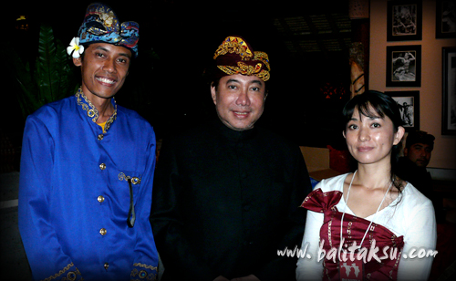 with Guruh Soekarno Putra and m