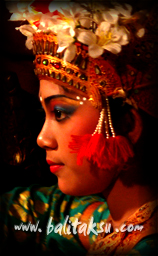 makeup balinese dance for Legong