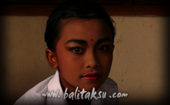 makeup balinese dance for children