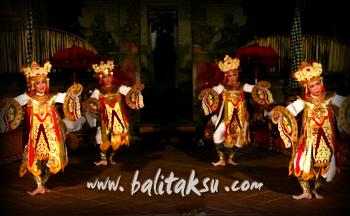 バリス・ククプ Baris Kepupu、Baris Kepoepoe ≒ Baris Kupu-kupu 冠をつける舞踊