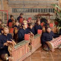 Sekaa Demen Peliatan at ARMA museum. セカ・デメン・プリアタン、アルマ美術館での演奏