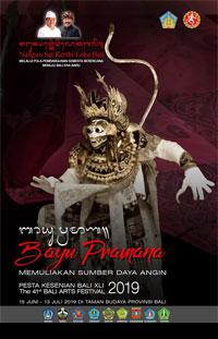 Bali ArtsFestaval ke-41 XLI 2019 Program