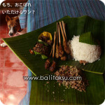 lawar, masakan bali, balinese food, rawar ラワール バリ料理