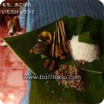 lawar, masakan bali, balinese food, rawar ラワール バリ料理