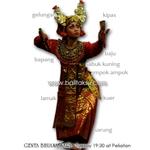 Costume Balinese Danca - pakaian tari condong チョンドン 衣装図解
