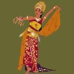 Costume Balinese Danca - pakean puspamekar プシュパムカール プスパメカル 衣装図解