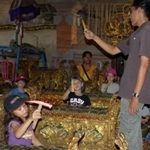Balerung Stage Workshop - the Spring Ubud 2013 Oct 17 Peliatan